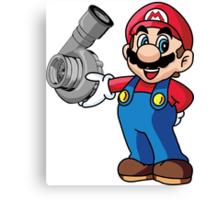 Mario Turbo Canvas Print
