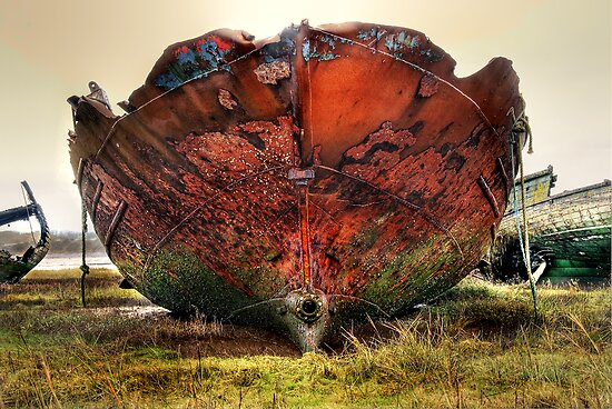 Another Rusty Wreck by Steve  Liptrot