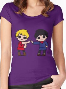 The Bad Touch Women's Fitted Scoop T-Shirt
