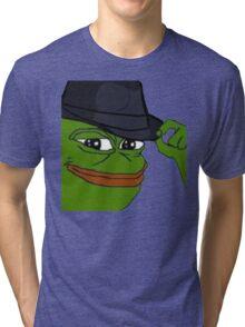 pepe fedora Tri-blend T-Shirt