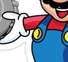Mario Turbo Sticker