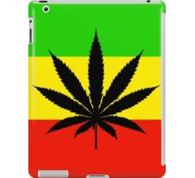 Rasta Pot iPad Case/Skin
