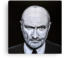 Phil Collins painting Canvas Print