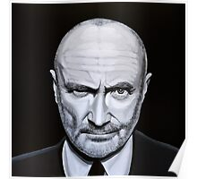 Phil Collins painting Poster
