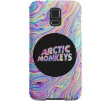 Arctic Monkeys Color Swirl  Samsung Galaxy Case/Skin
