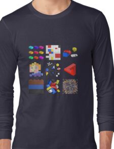Toy Brick Gallery Long Sleeve T-Shirt