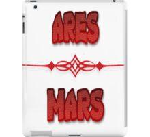 Ares & Mars iPad Case/Skin