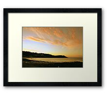 Of Land, Sea and Sky Framed Print