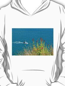 On The Edge, Devon, England T-Shirt