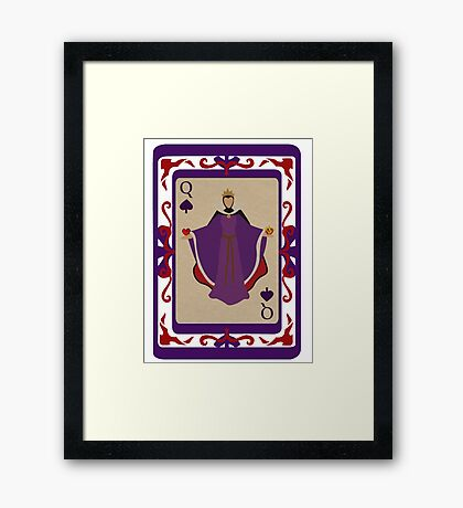 The Evil Queen Framed Print