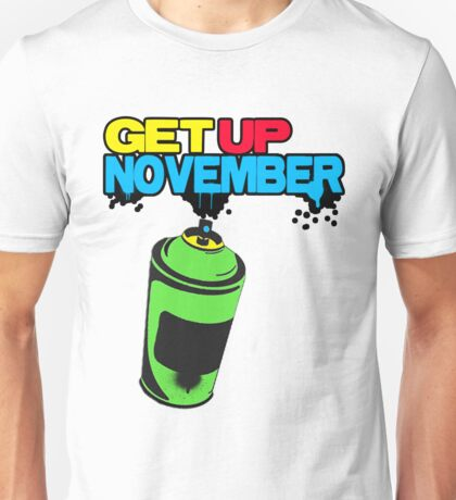 get up november band shirt Unisex T-Shirt