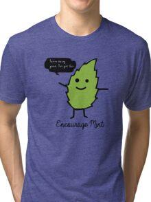 Encourage Mint Tri-blend T-Shirt