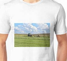 Vehicle On A Farm Unisex T-Shirt