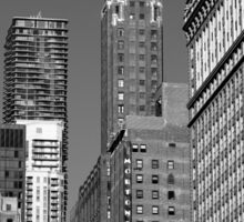 Chicago Skyscrapers Sticker