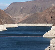 View From Hoover Dam by Edith Farrell