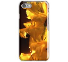 Yellow Flowers On A Stem iPhone Case/Skin