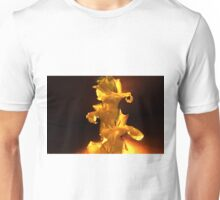Yellow Flowers On A Stem Unisex T-Shirt