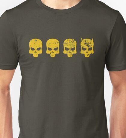 Payday 2 DeathWish Skulls Unisex T-Shirt