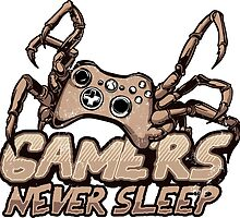 Gamers never sleep by ncartoon