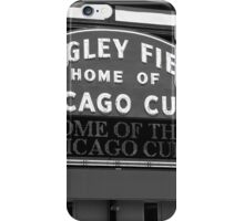 Chicago Cubs - Wrigley Field iPhone Case/Skin