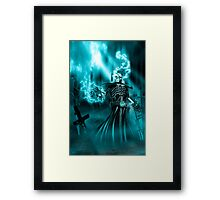 Electric Ghost Framed Print