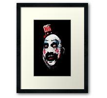Super Secret Clown Business Framed Print