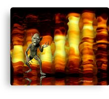 fire goblin... Canvas Print