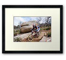 Coming Down The Mountain  Framed Print