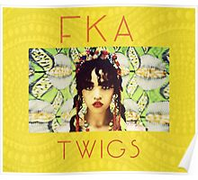 FKA Twigs Yellow Poster