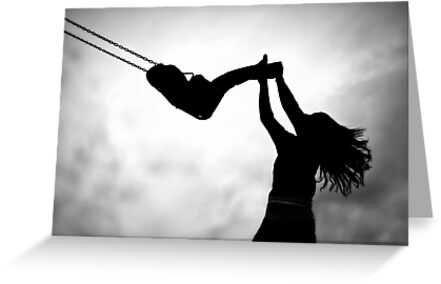 Swing me to the moon! by Kristina Gale