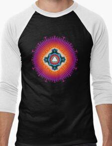 'Form From Light' T-shirt Men's Baseball ¾ T-Shirt