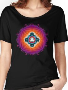 'Form From Light' T-shirt Women's Relaxed Fit T-Shirt