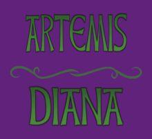 Artemis & Diana by FabiasXII