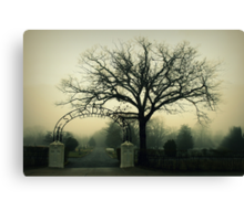 St. Andrews Cemetery Canvas Print