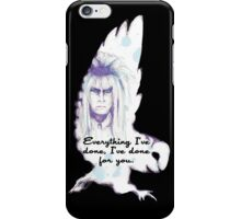 Labyrinth Everything I've Done Owl iPhone Case/Skin
