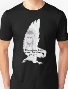 Labyrinth Everything I've Done Owl T-Shirt