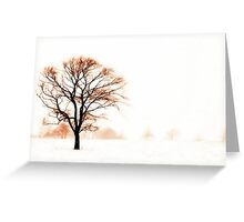 The Warmth of Winter Greeting Card