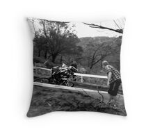 Peddle, Peddle, Peddle!! Throw Pillow