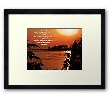 Psalm 84:11 Framed Print