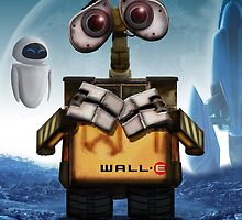 Wall.E and EVE by Paul Elder