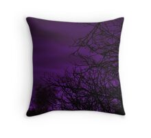 Aubergine Twilight Throw Pillow