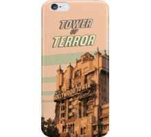 tower of terror hotel hollywood  iPhone Case/Skin