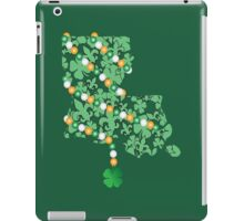 Louisiana State Wrapped in St. Patty Beads iPad Case/Skin