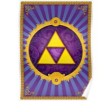Arabesque Triforce Poster