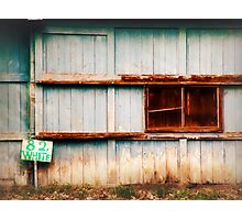 Weathered  Barn Photographic Print