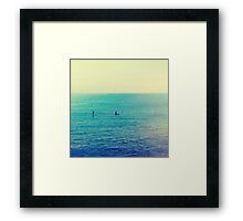 Santa Monica Beach, CA Framed Print