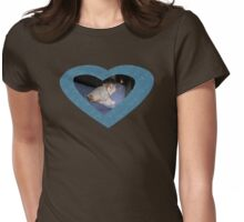 Snuggling with TC Womens Fitted T-Shirt