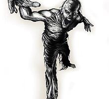 Reaching Zombie by David Lange