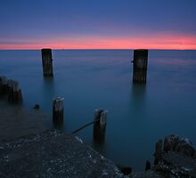 Lake Michigan Dawn by Adam Bykowski