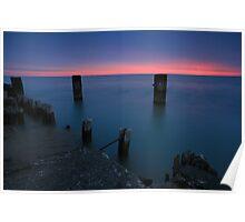 Lake Michigan Dawn Poster